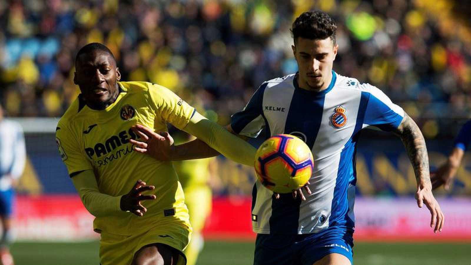 El Espanyol neutraliza el regreso de Calleja al Villarreal