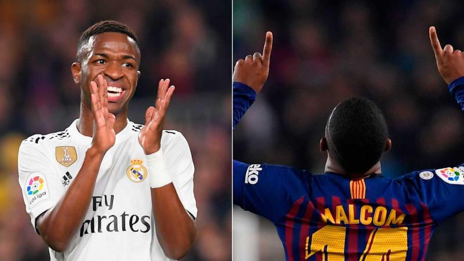 El día que Vinicius y Malcom brillaron en casa de Messi