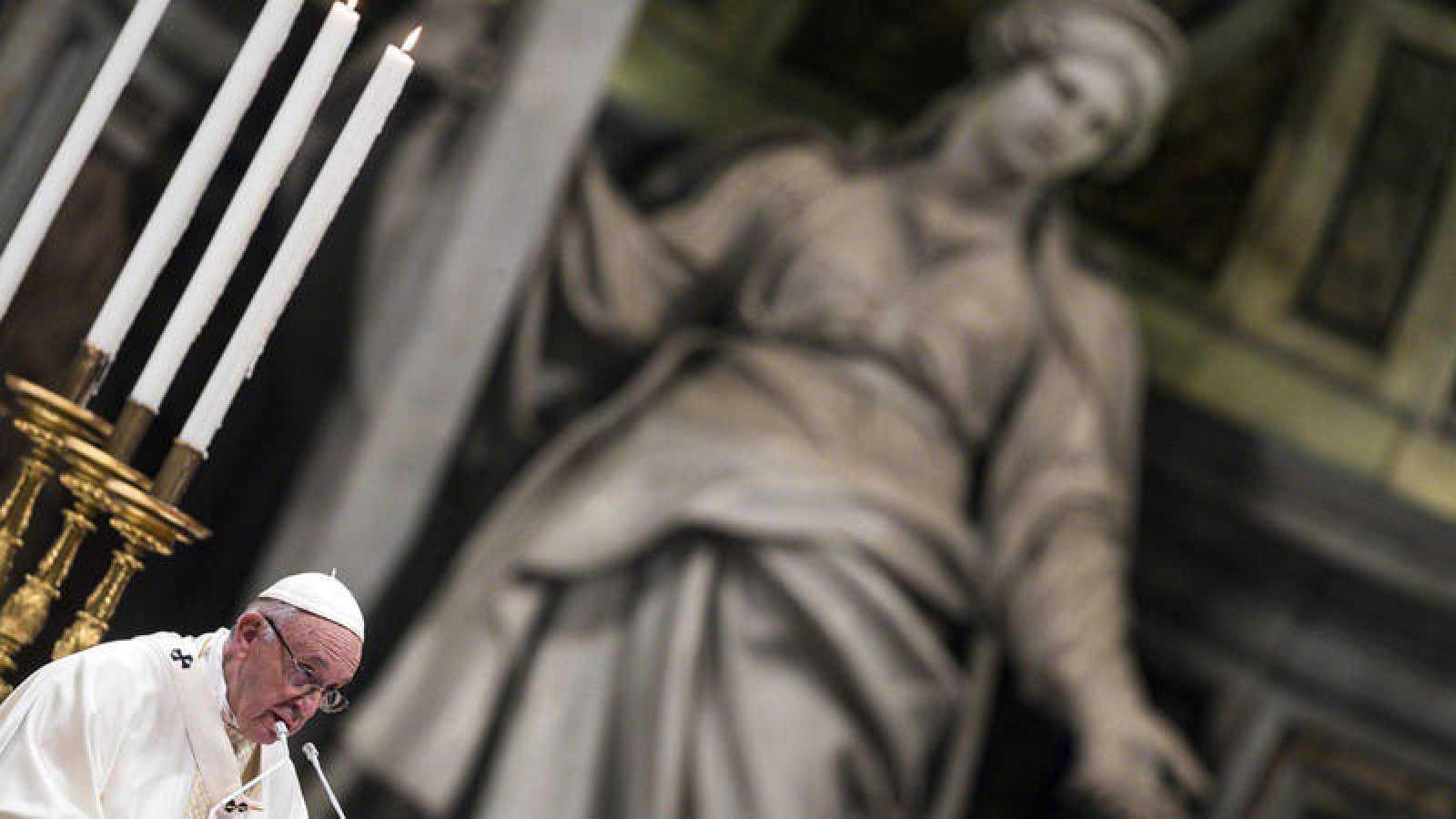 El padre Francisco en una imagen de archivo en febrero de 2019