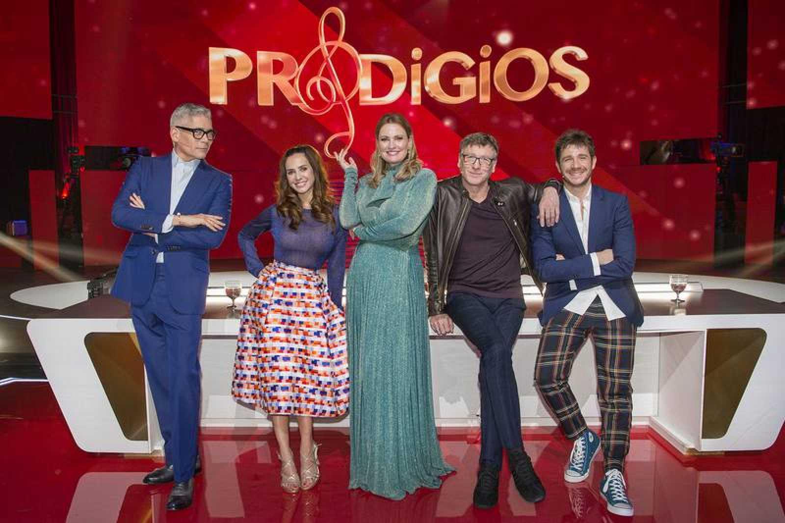 RTVE graba 'Prodigios', un programa que busca el mejor talento en canto,  instrumento y danza