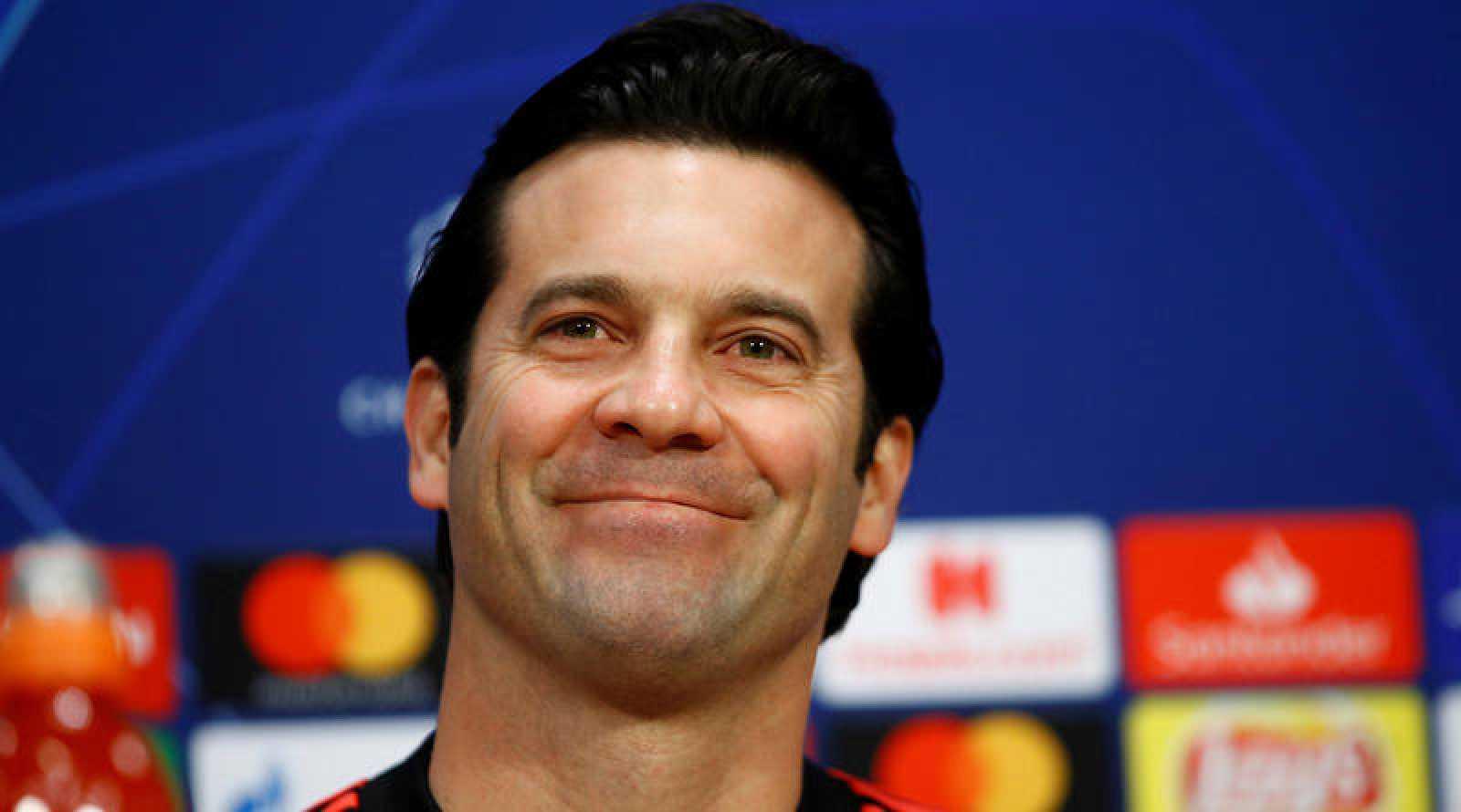 Santiago Solari, en la rueda de prensa previa al partido de ida de octavos de final de Champions contra el Ajax.