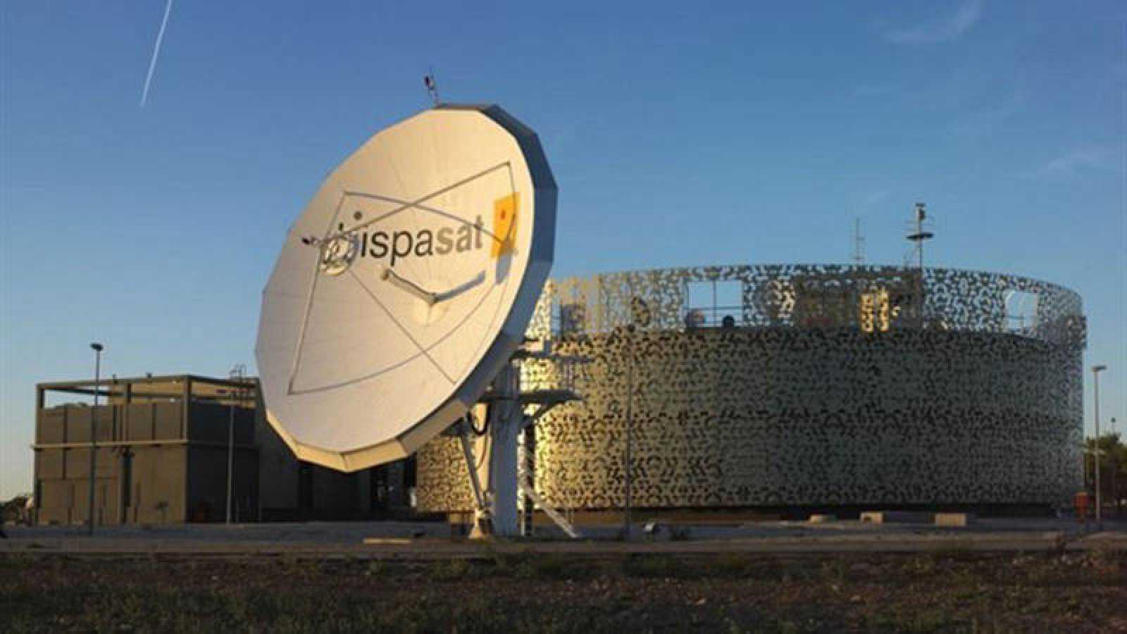 Imagen de las instalaciones de Hispasat