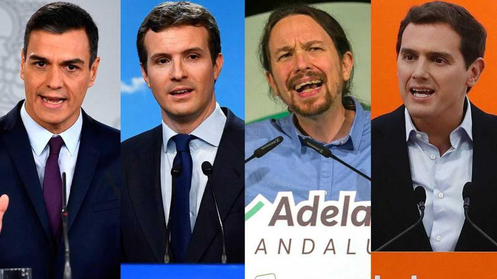 Montaje líderes políticos