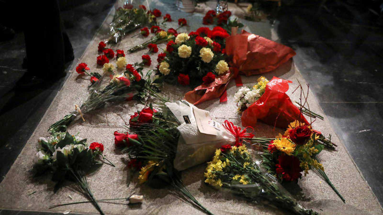 La tumba de Franco en la basílica del Valle de los Caídos