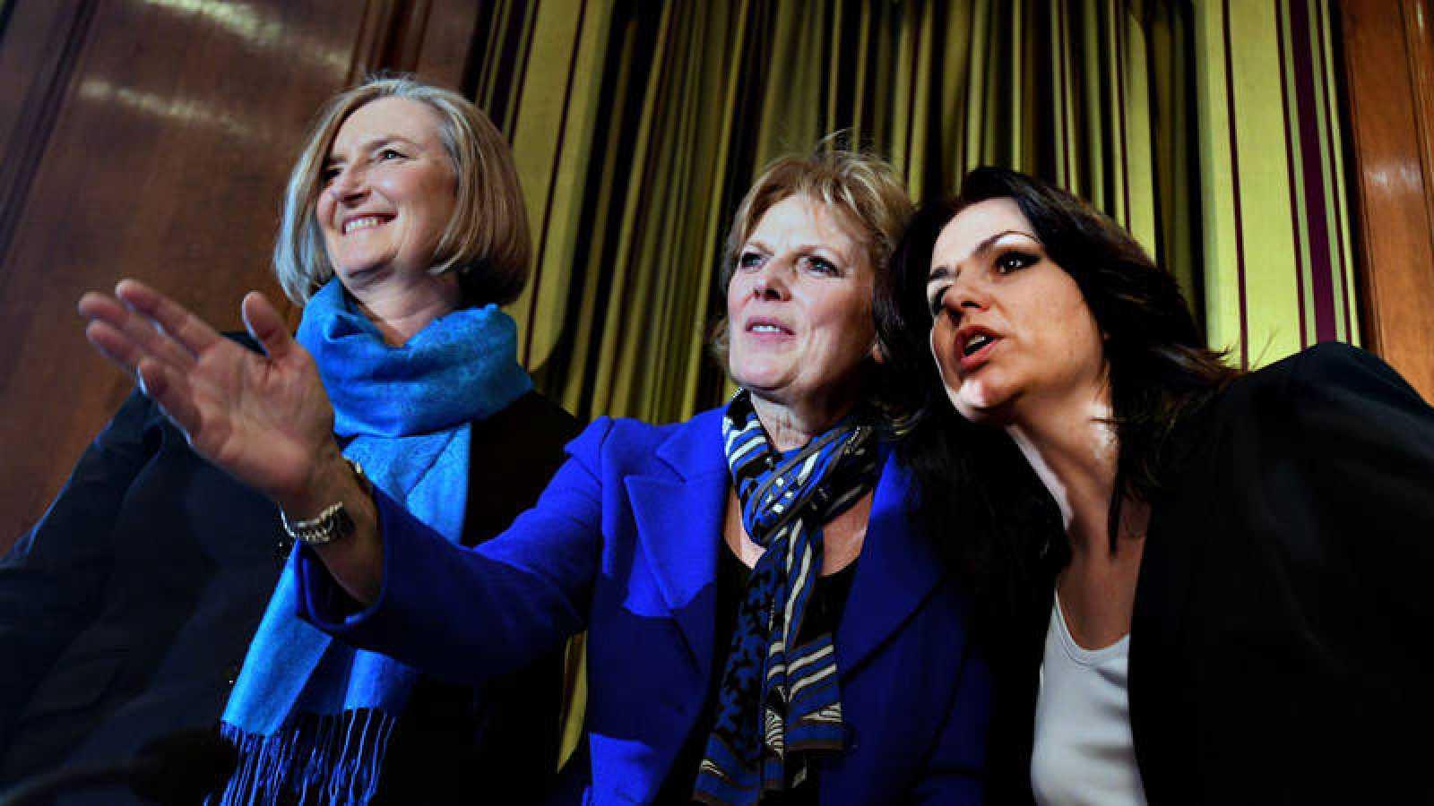 Heidi Allen, Anna Soubry y Sarah Wollaston han abandonado este miércoles la formación liderada por Theresa May