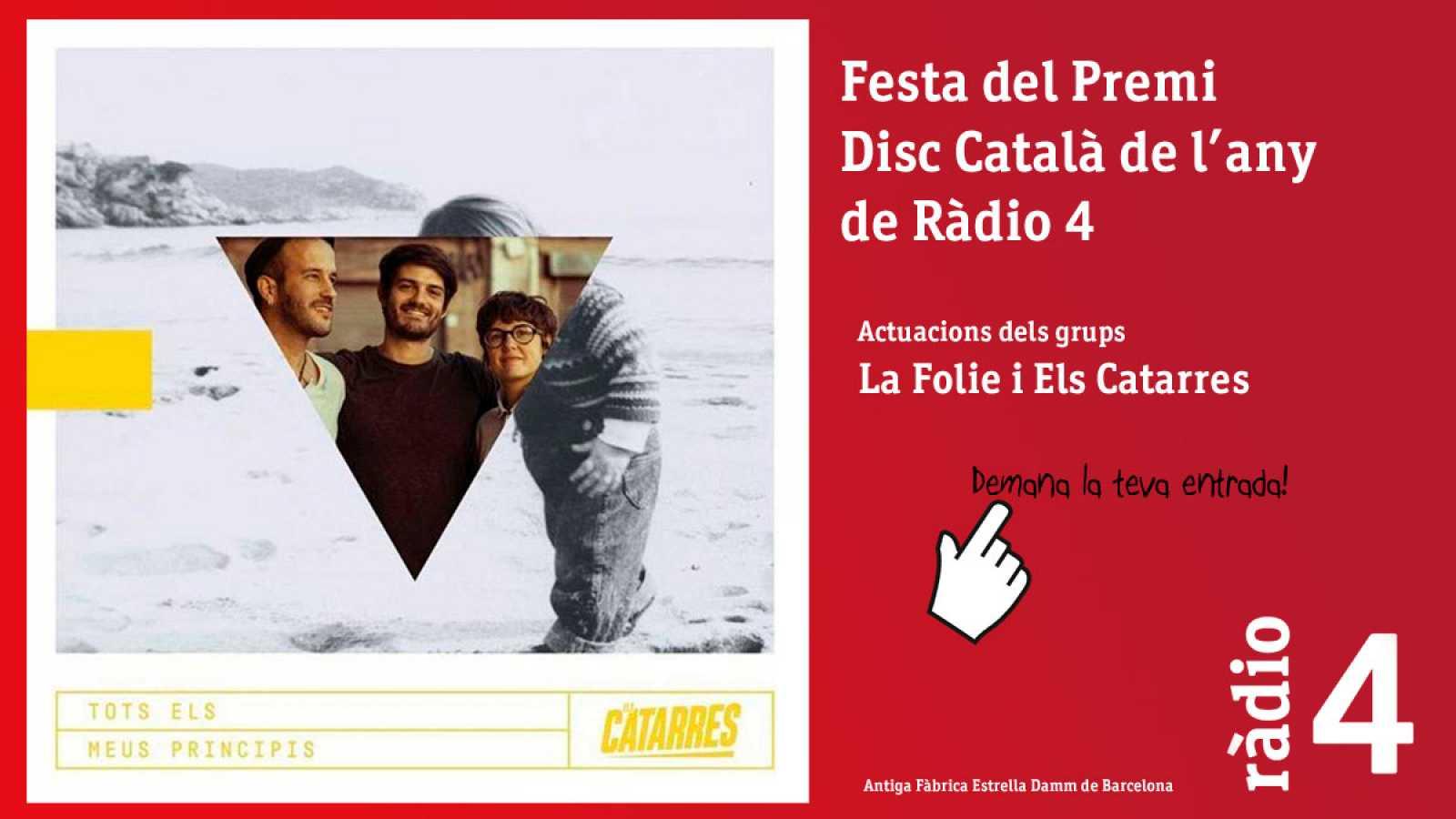 Festa del Premi Disc Català de l'any de Ràdio 4