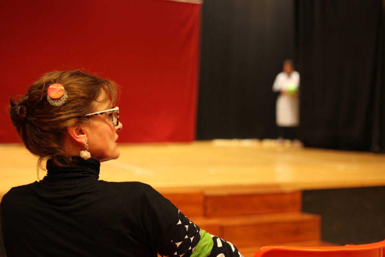 Elena Cánovas, directora del grupo de teatro de Yeses