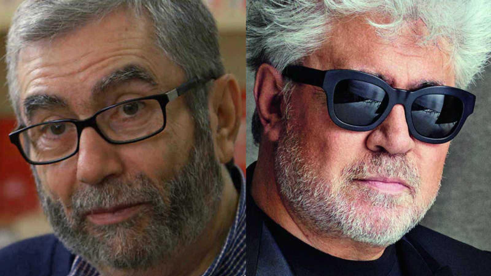 Antonio Muñoz Molina y Pedro Almodóvar
