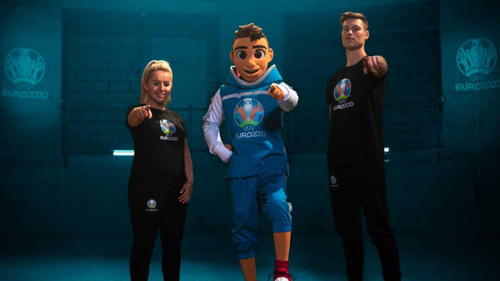 Skillzy la mascota de la Eurocopa 2020