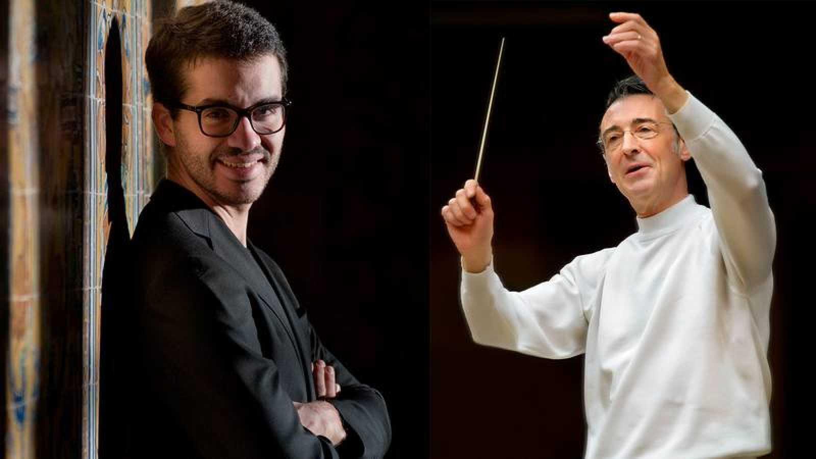 Juan Pérez Floristán y Miguel Ángel Gómez-Martínez