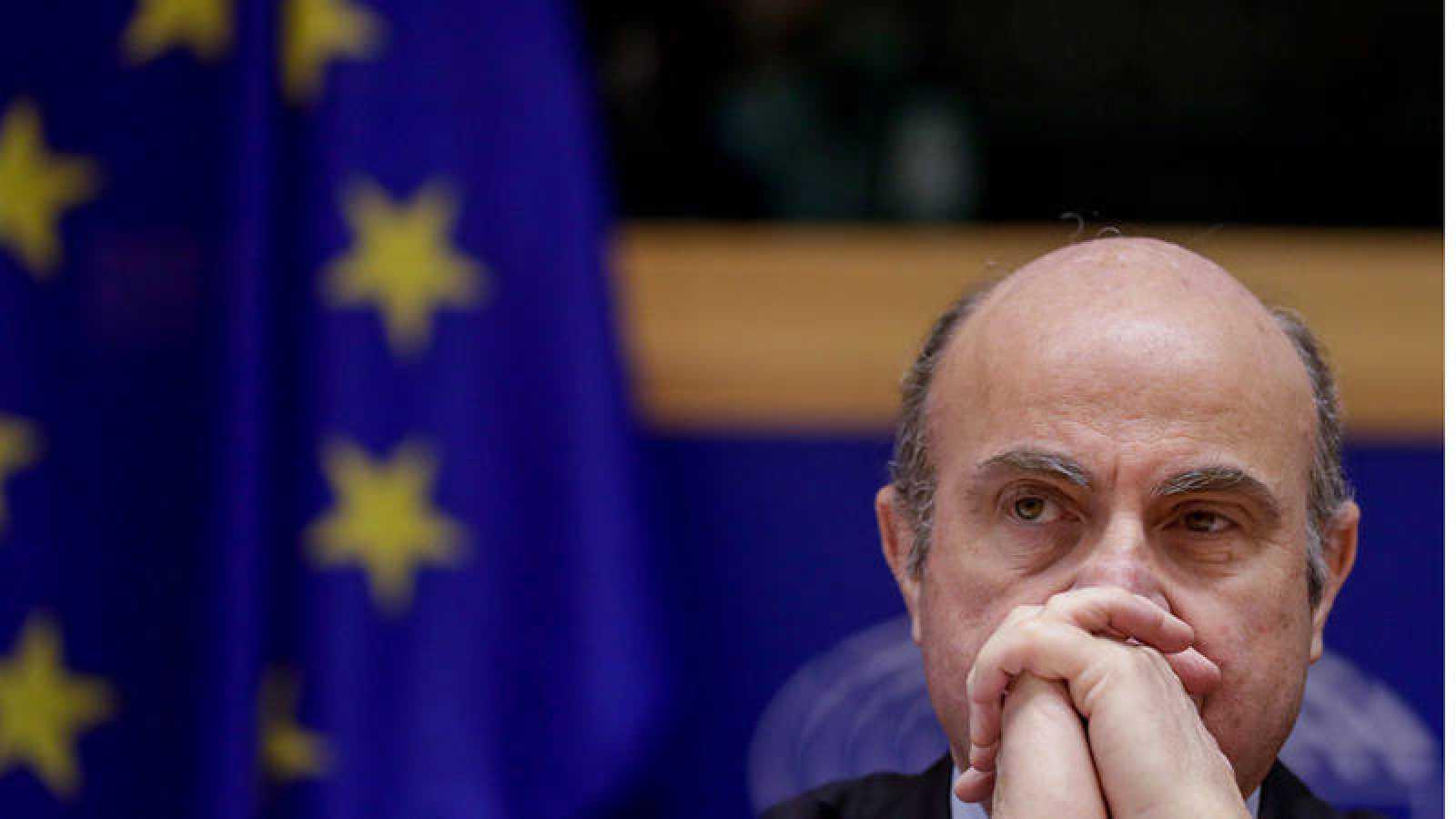 El vicepresidente del Banco Central Europeo, Luis de Guindos, comparece ante la comisión de Economía del Parlamento Europeo