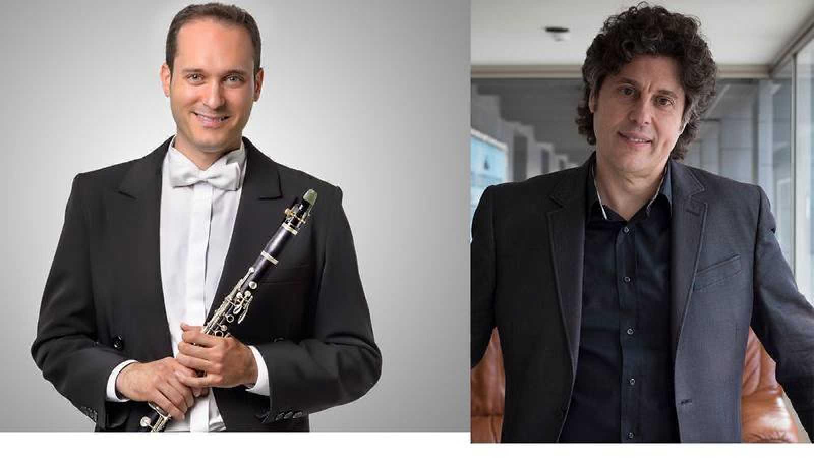 Javier Martínez y Cristóbal Soler