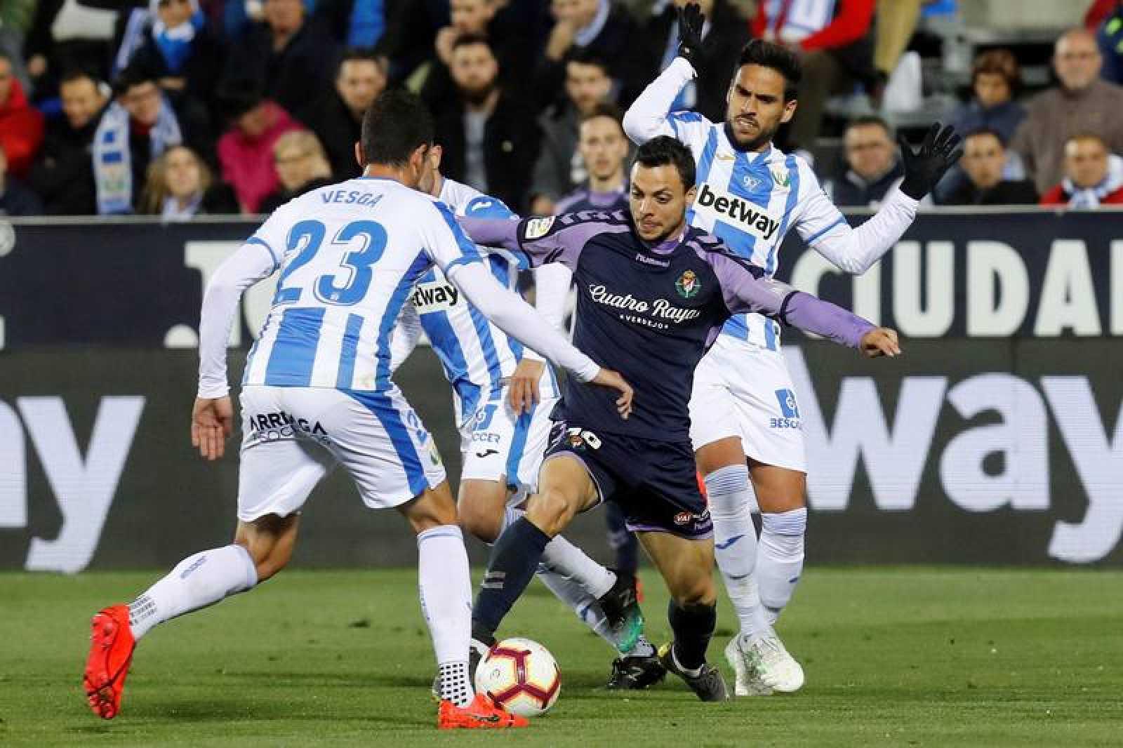Liga   El Leganés gana 'in extremis' al Valladolid