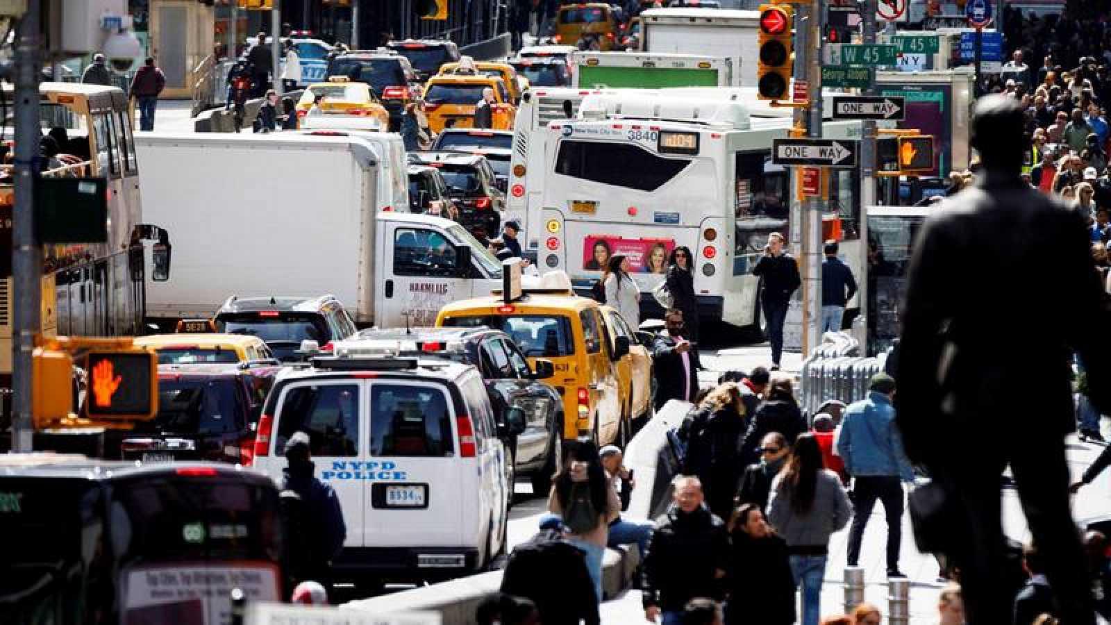 Nueva York cobrará a los vehículos que entren en el centro de la ciudad