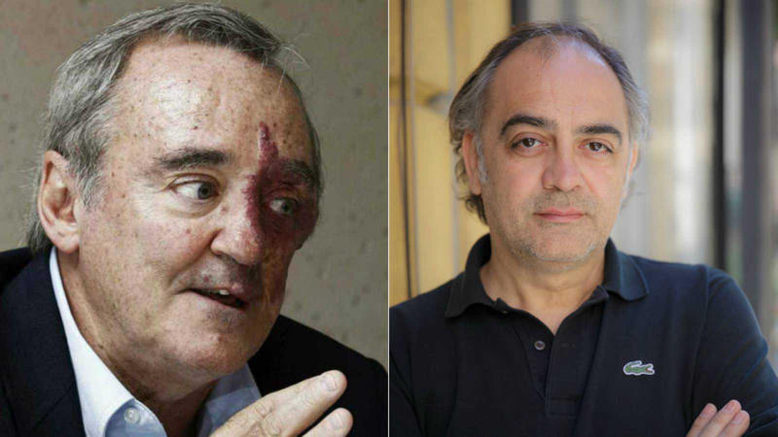 Mariano Barbacid y Pep Tosar