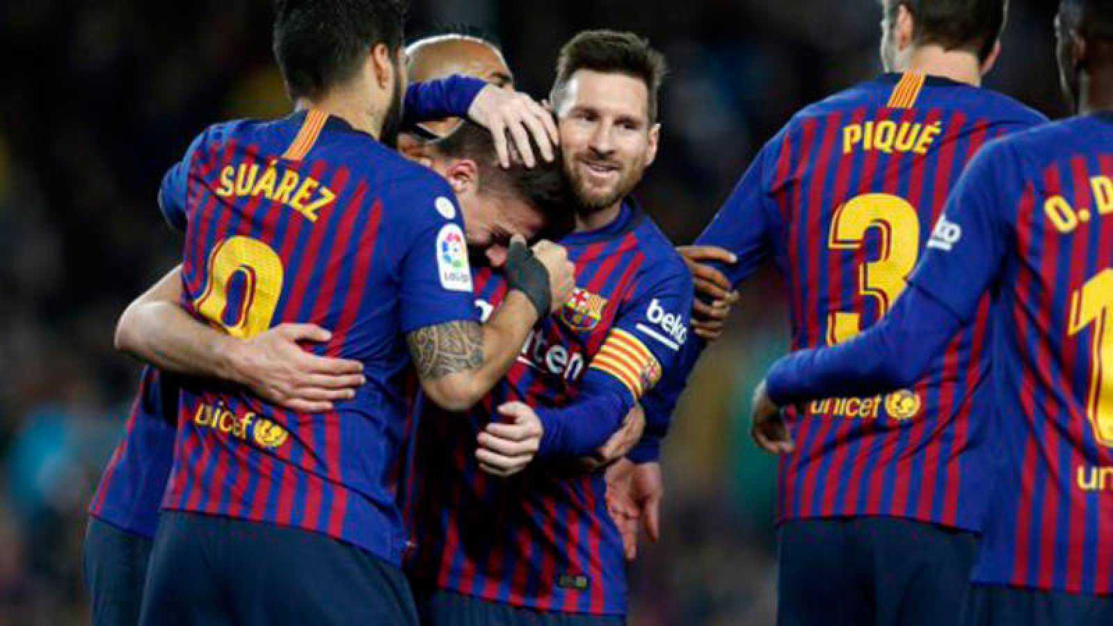 El Barça, a seis puntos de cantar el alirón