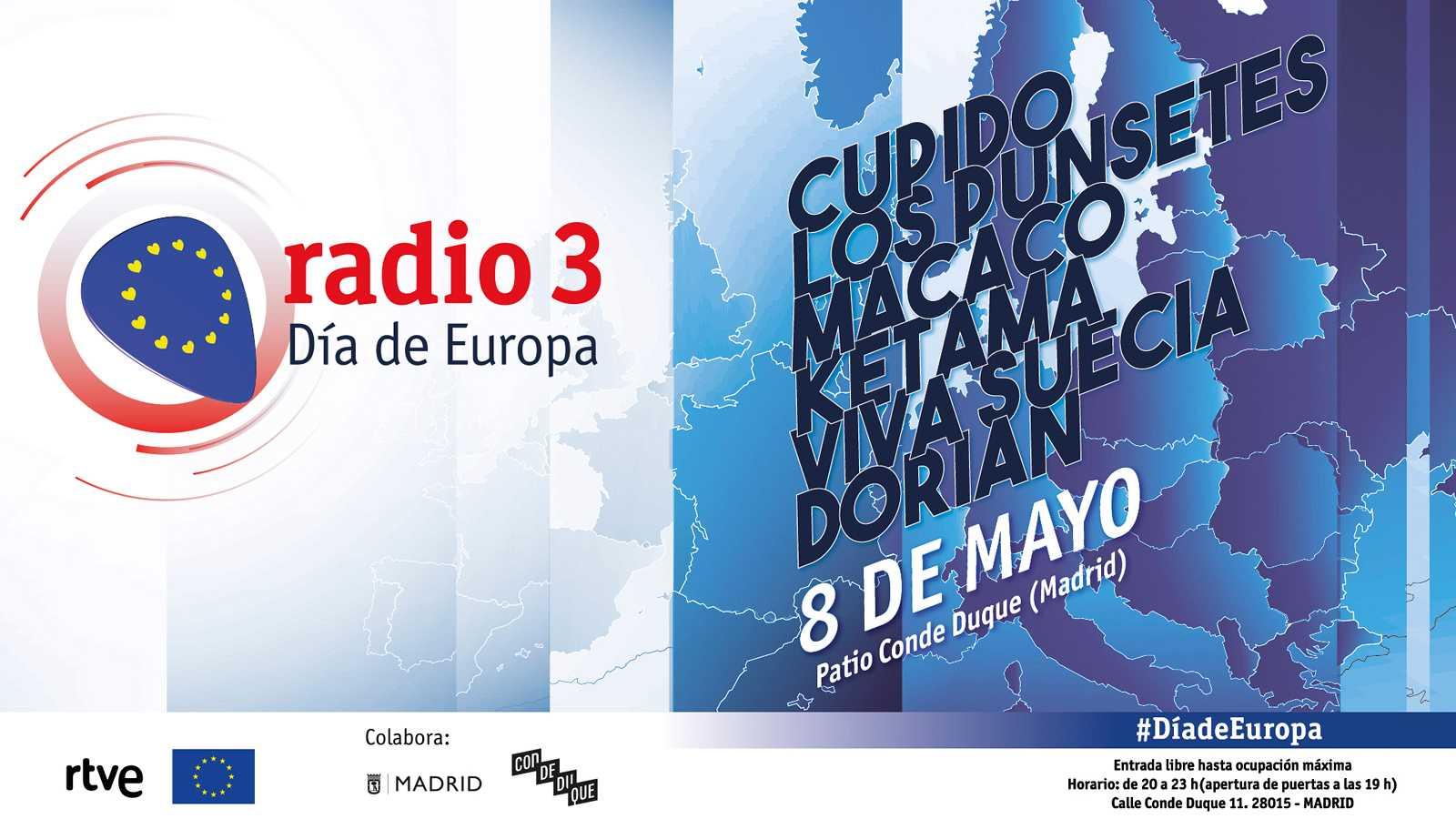 Ven gratis a los conciertos por el Día de Europa de Radio 3