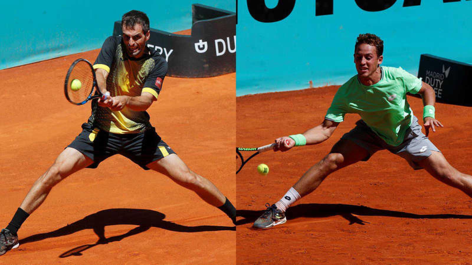 Ramos y Carballés, victoriosos en la primera jornada del Madrid Open