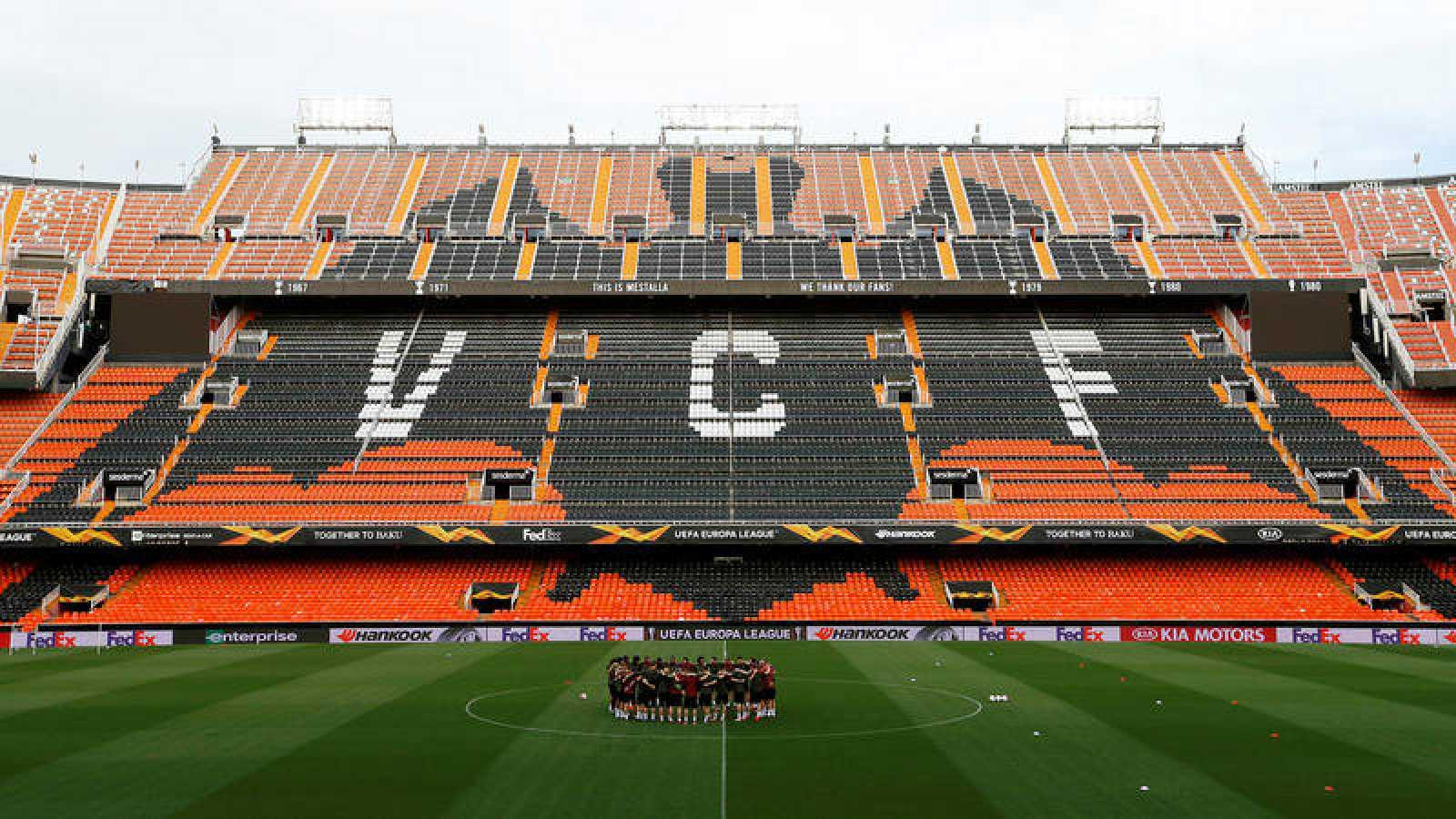 Europa League: El Valencia busca remontar al Arsenal - rtve.es
