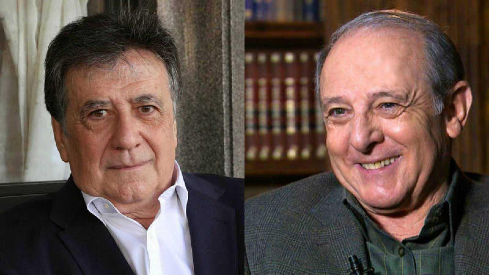 Luis Landero y Emilio Gutiérrez Caba