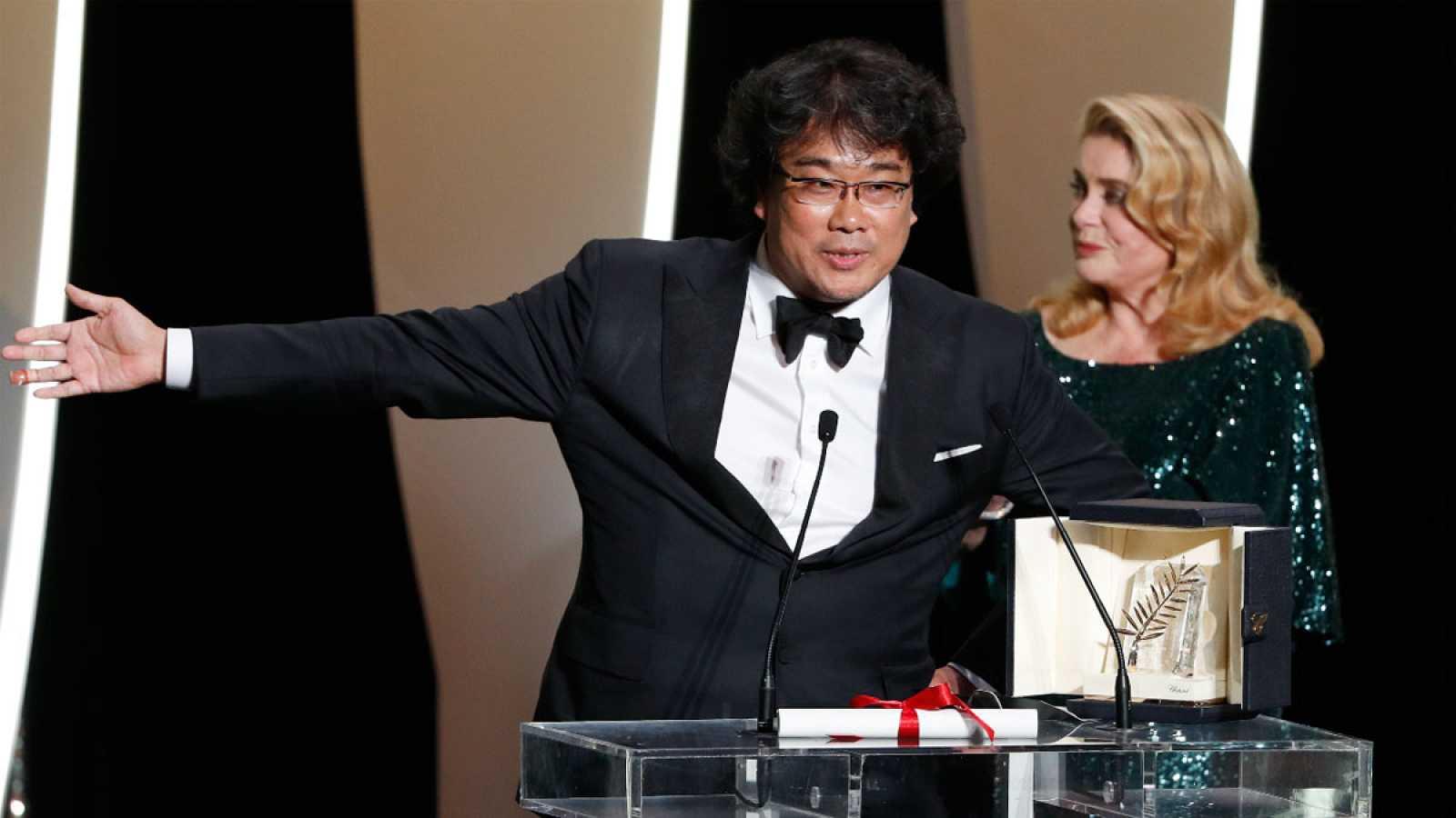 Palma de Oro para 'Parasite', la comedia negra del surcoreano Bong Joon-Ho