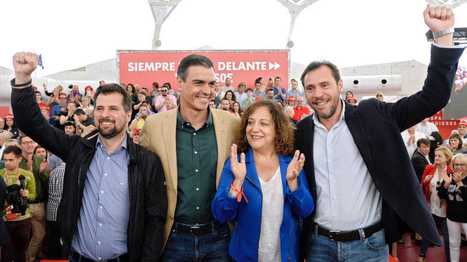 Acto electoral del PSOE en Valladolid