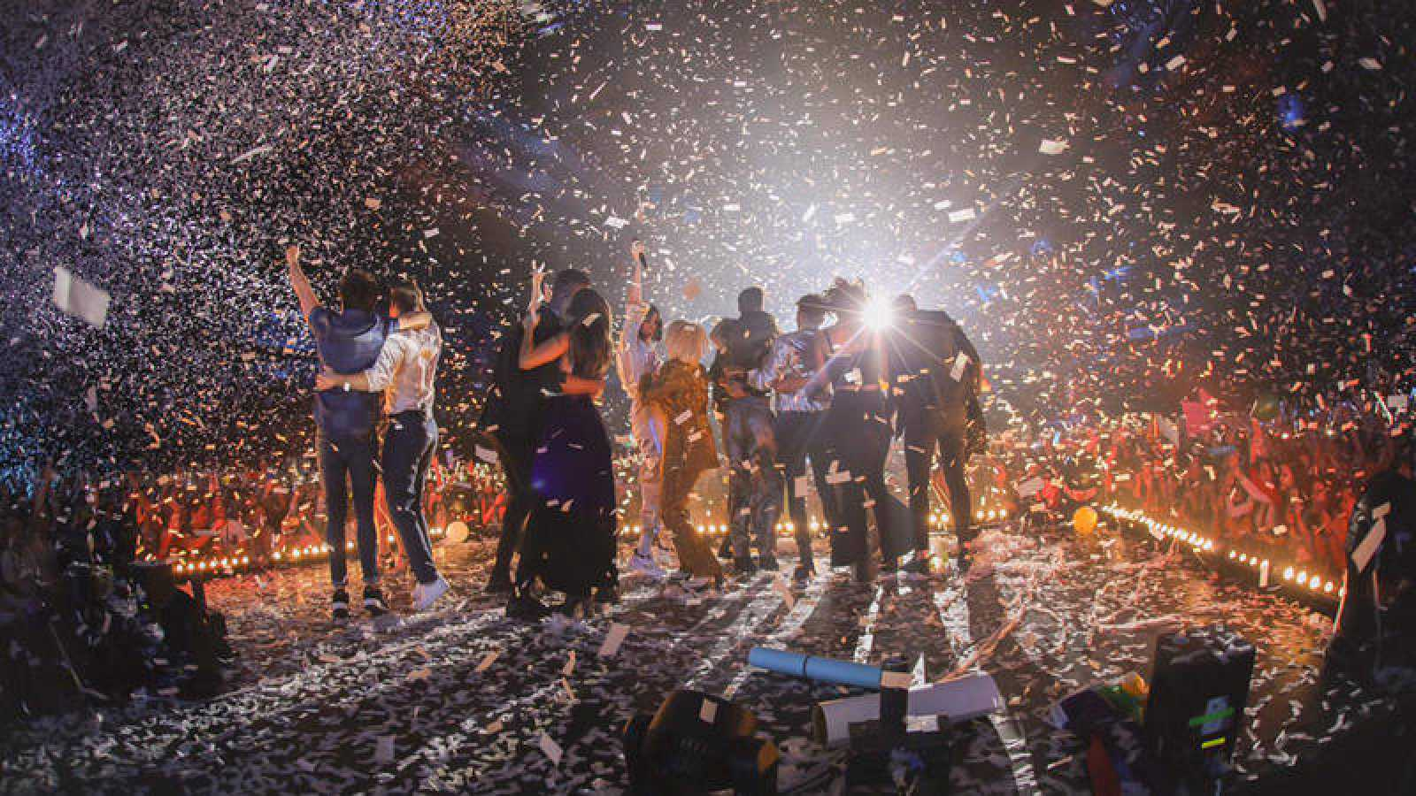 OT 2018 reaunuda su gira en el Palau Sant Jordi de Barcelona