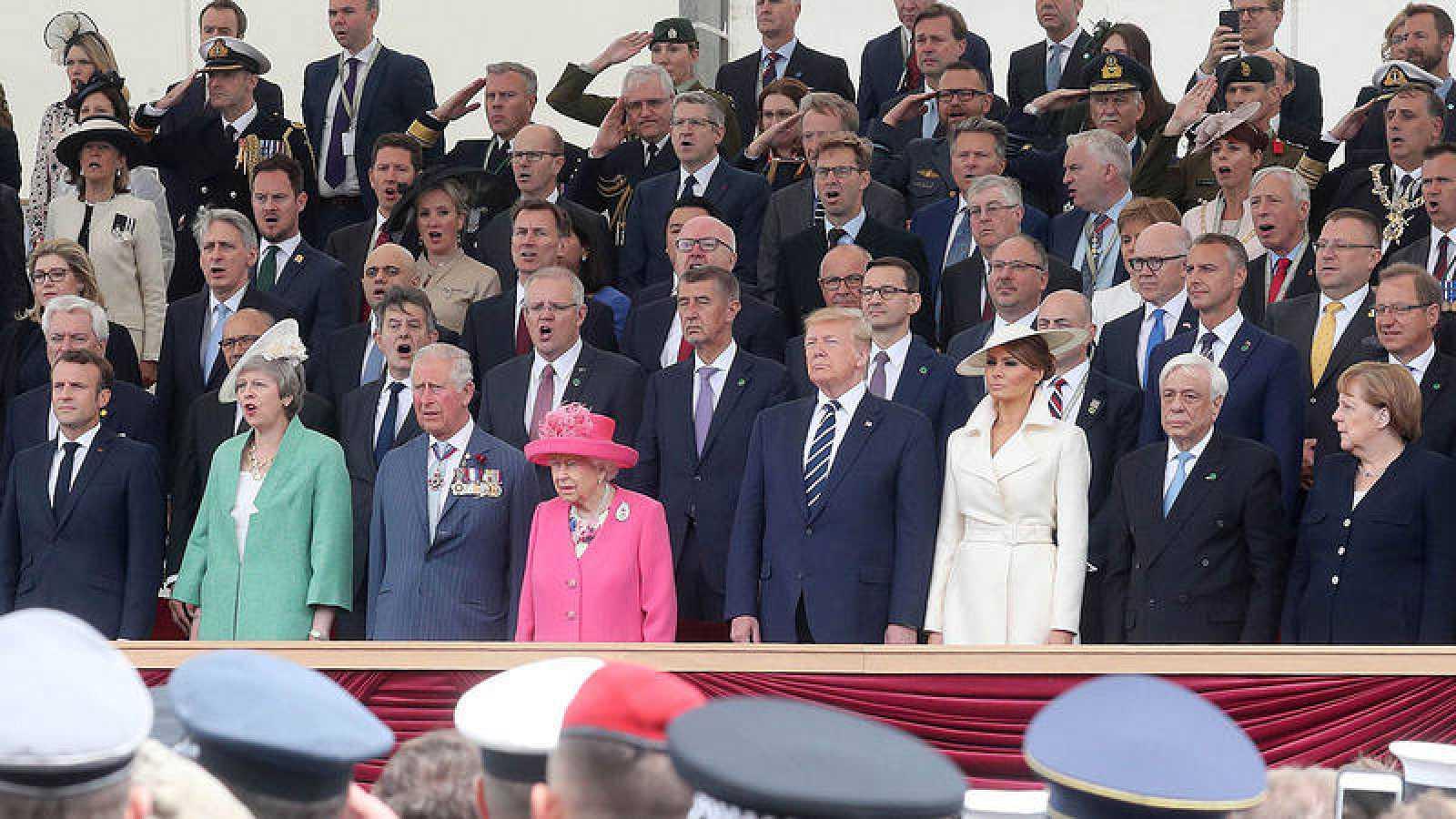 Resultado de imagen para Reino Unido participaron del homenaje por el 75º aniversario del Día D