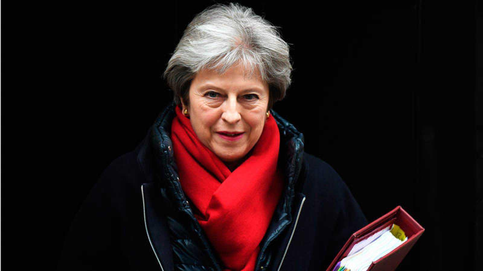 La primera ministra británica en funciones, Theresa May, en una imagen de archivo