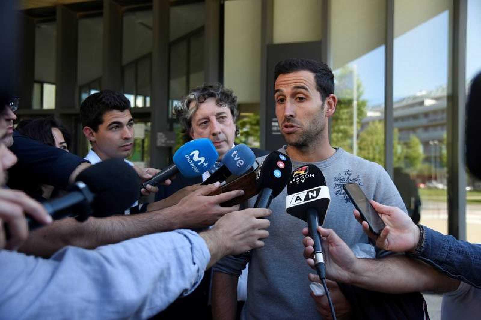 Íñigo López, a la salida del juzgado el pasado 30 de mayo
