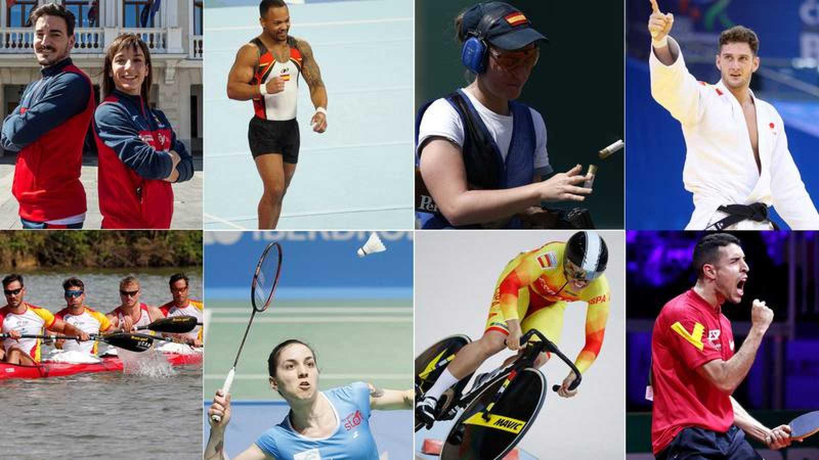 Los deportistas españoles se prueban en Minsk a un año de los Juegos de Tokio 2020