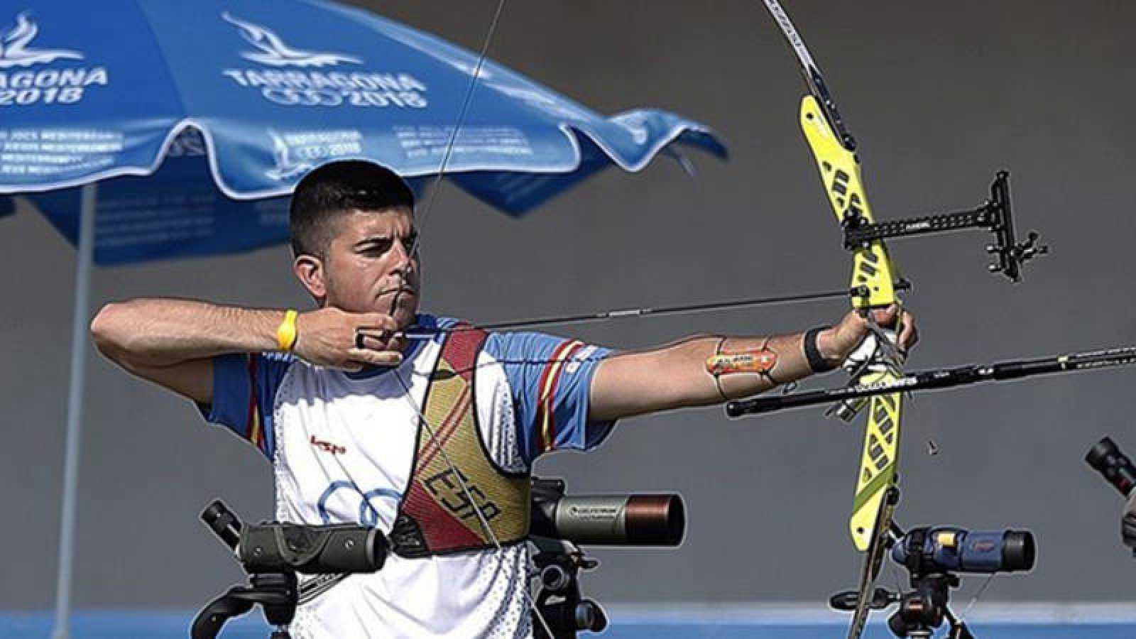 El tirador con arco Miguel Alvariño, abanderado español en los Juegos Europeos