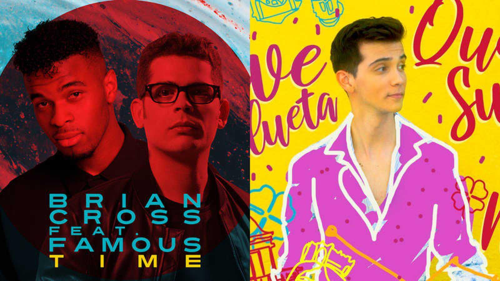 """""""Time"""" y """"Qué suerte la mía"""", los nuevos singles de Famous y Dave"""