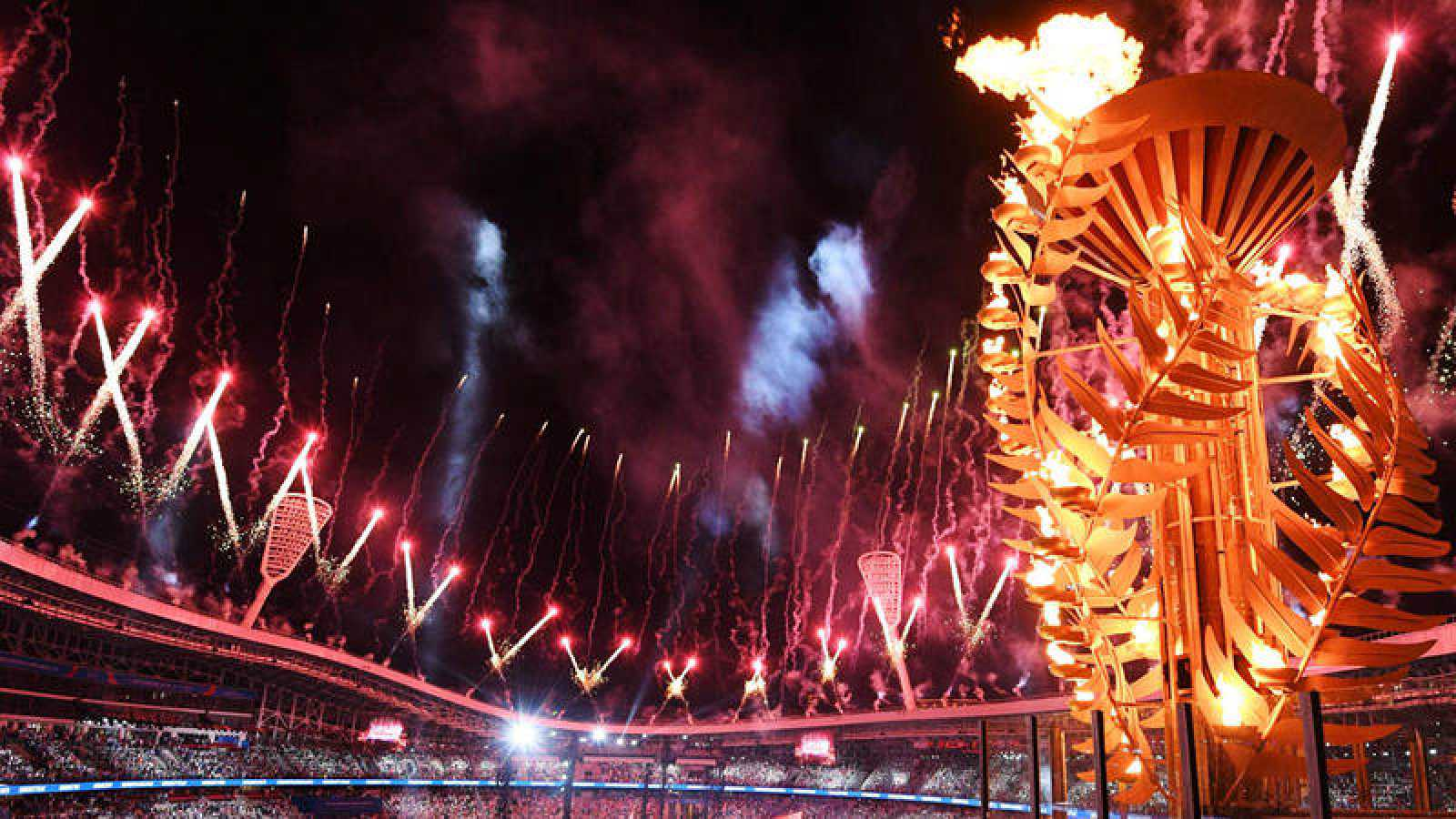 Imagen de la ceremonia de inauguración de los Juegos Europeos de Minsk 2019
