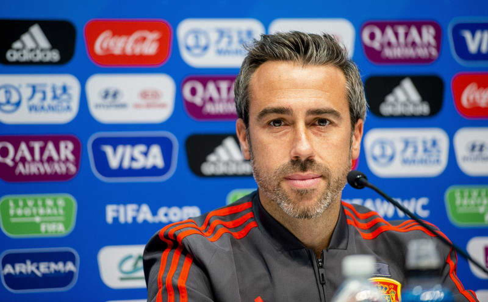 Jorge Vilda, seleccionador español