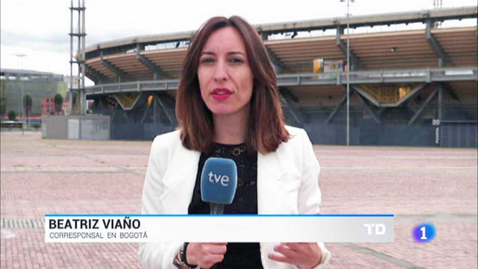 Beatriz Viaño, corresponsal de TVE en Bogotá