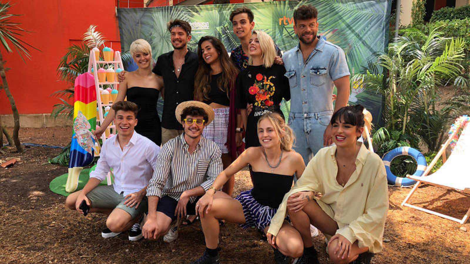 Los concursantes de OT 2017 y OT 2018 en el OT Fest