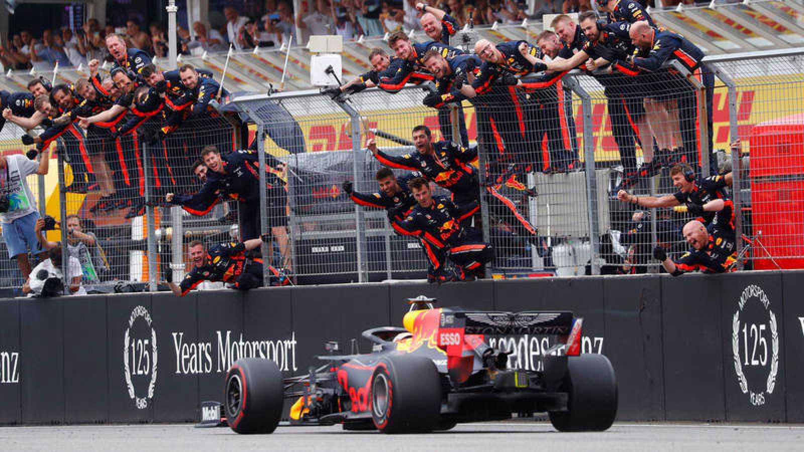 Verstappen vence el GP de Alemania