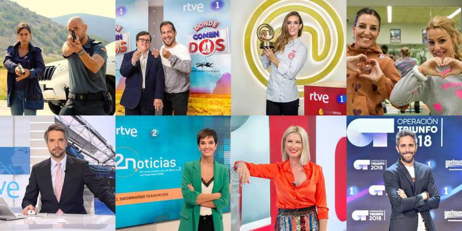 20 finalistas de RTVE en la XXI edición de los Premios Iris