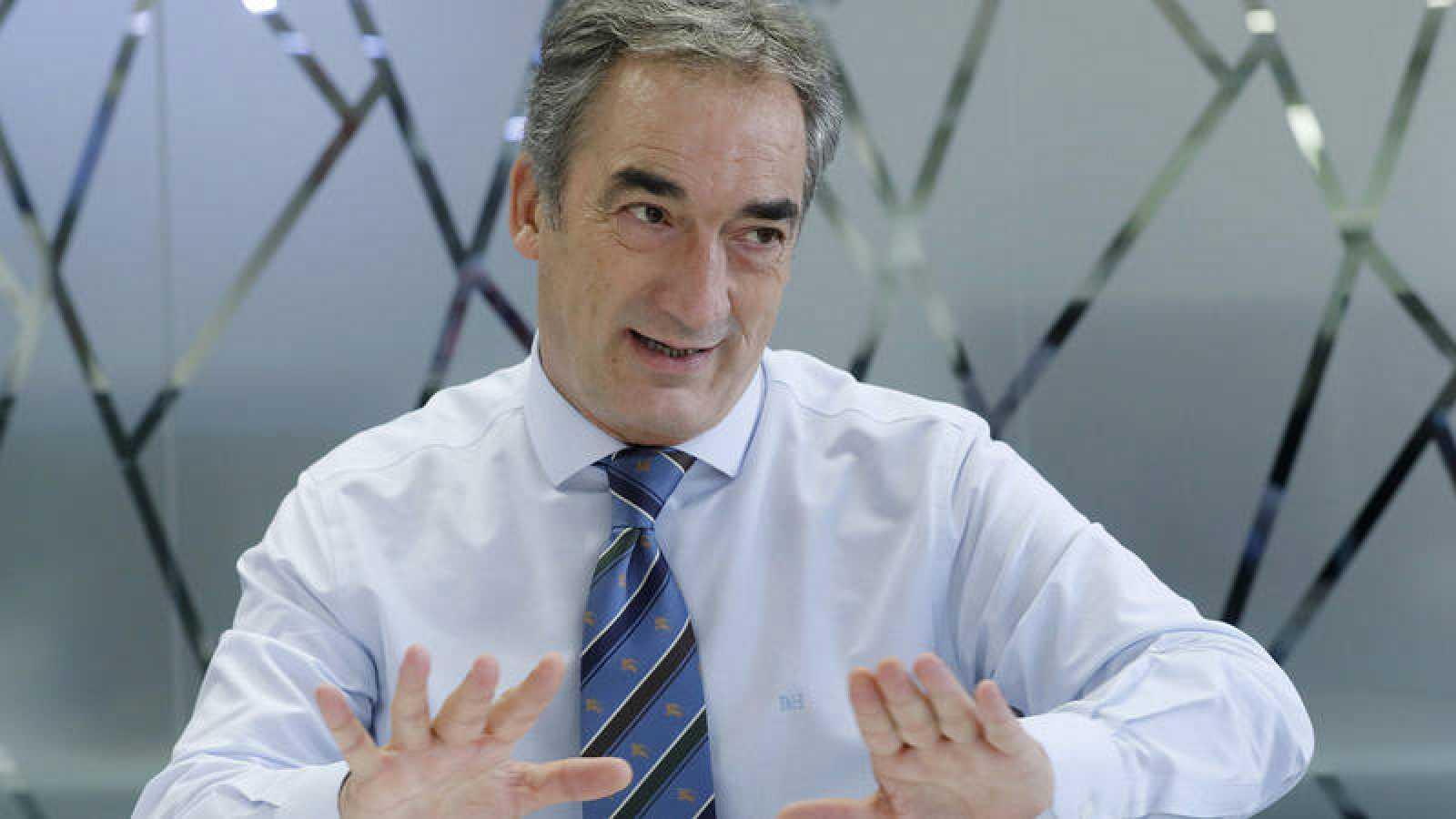 Javier Lozano, presidente de la LNFS.