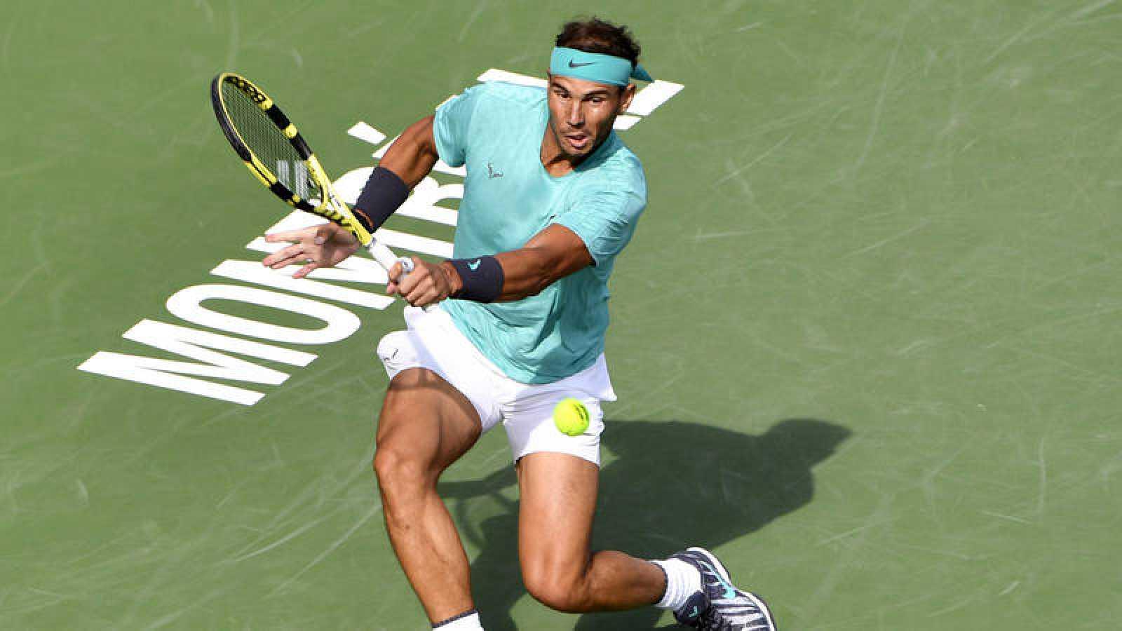 El tenista español Rafa Nadal, en la final del Masters 1000 de Montreal.