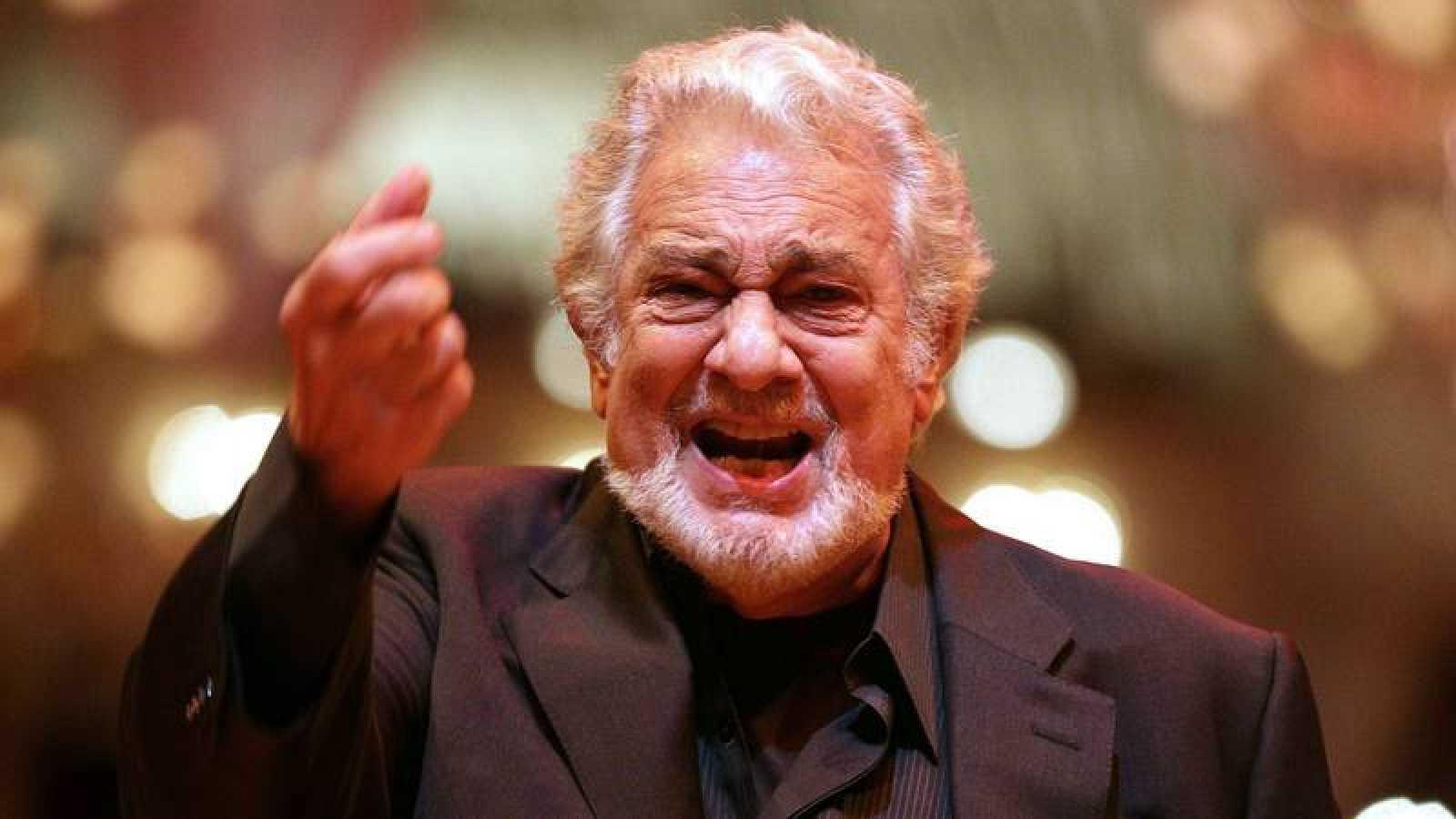 El cantante de ópera Plácido Domingo en una foto de archivo