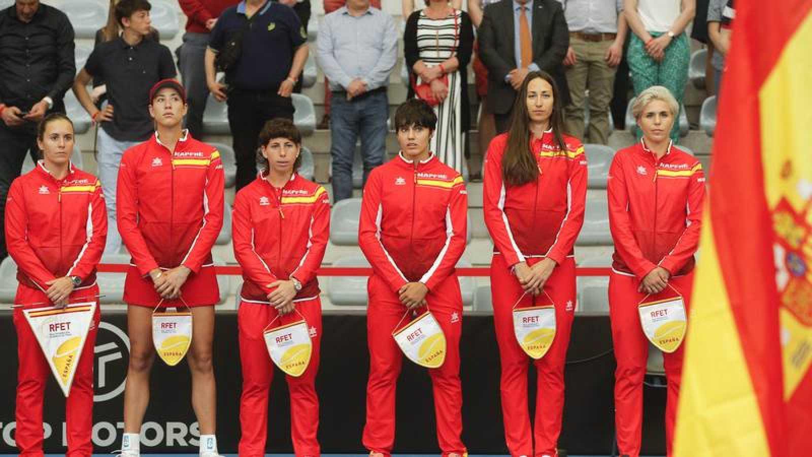 España recibirá a Japón en el 'playoff' de la Copa Federación