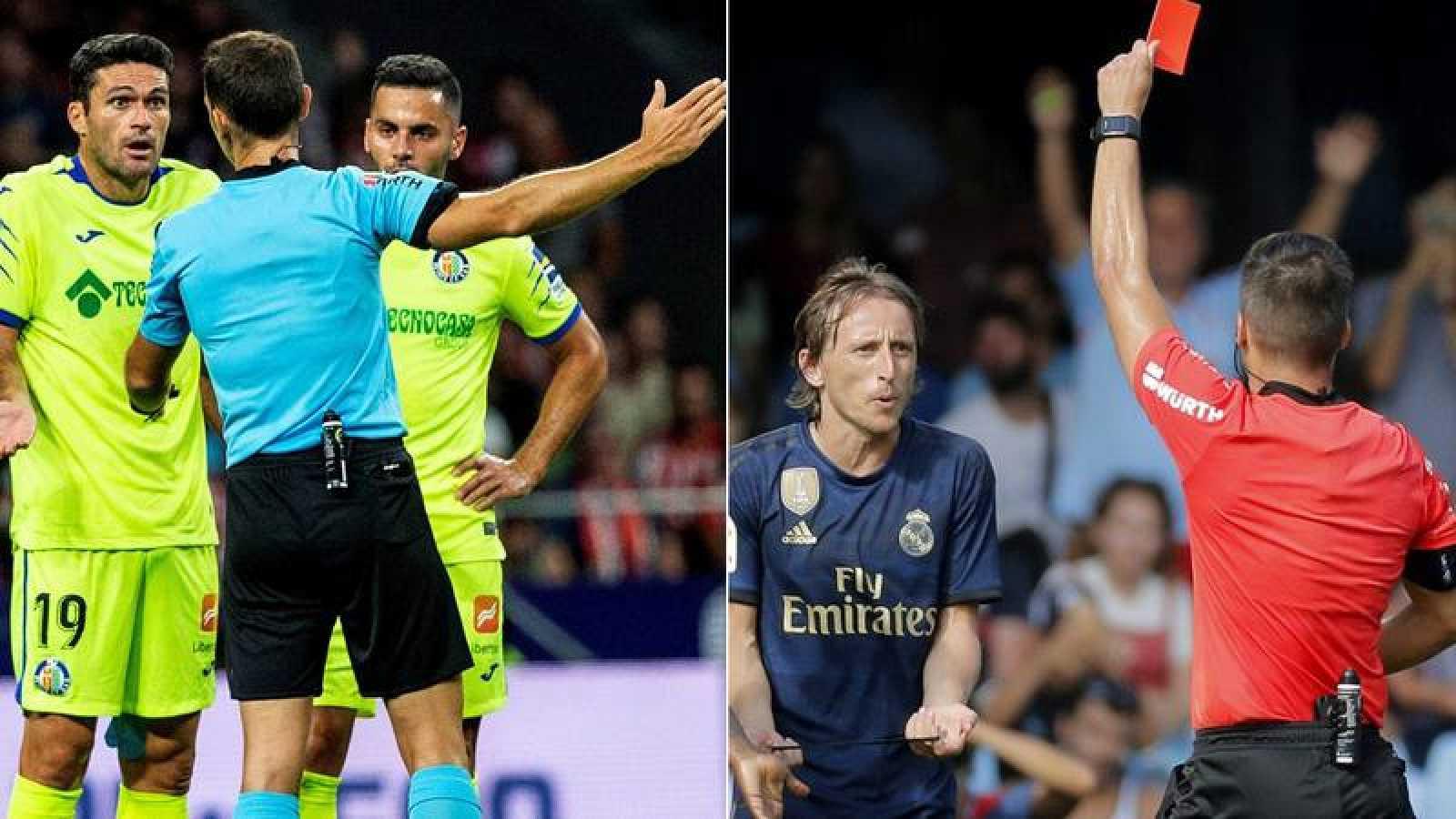 El Comité de Competición sanciona con  un partido a Luka Modric y Jorge Molina
