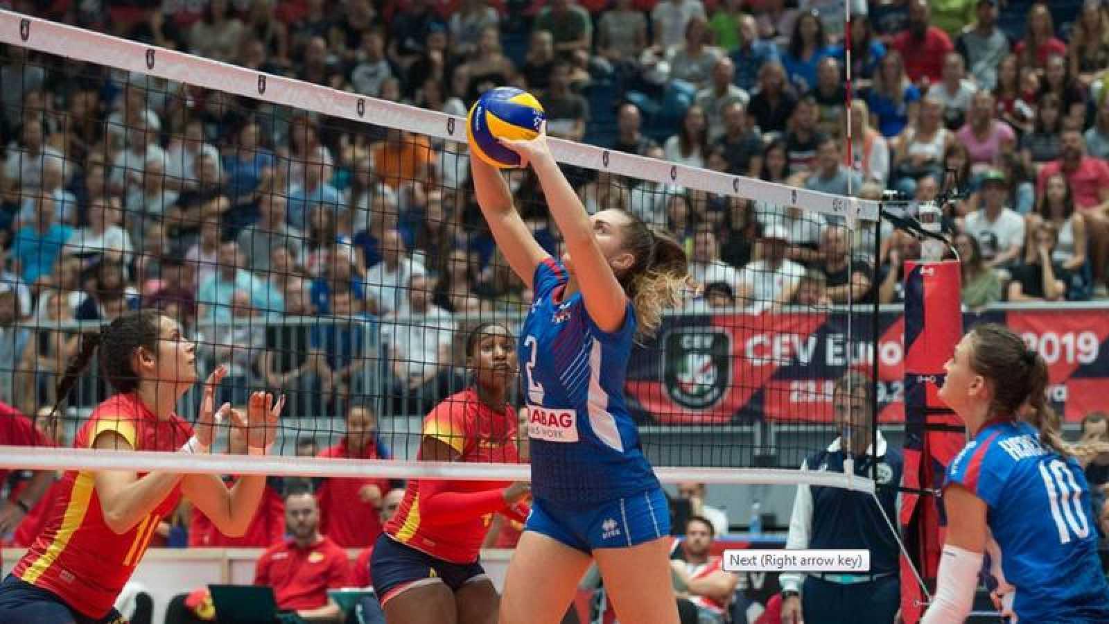 Eslovaquia frustra el estreno español en el Europeo de voleibol