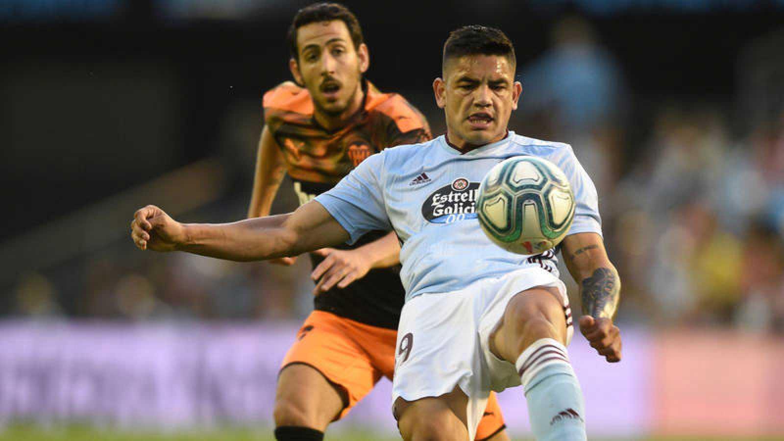El Celta logra la primera victoria del curso ante el Valencia