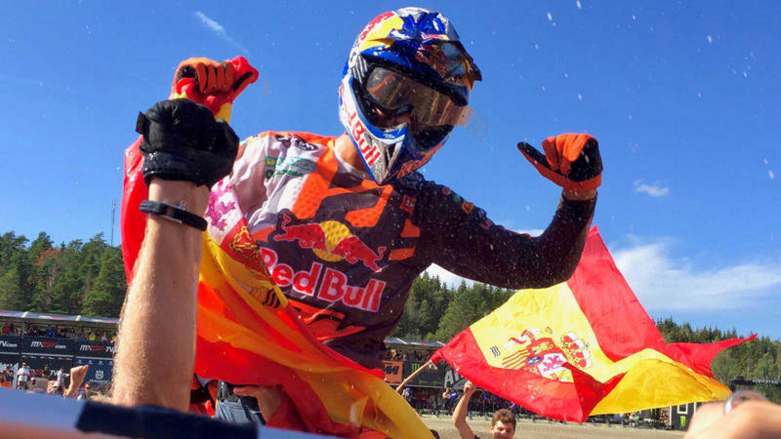 Jorge Prado revalida el título mundial de MX2 a falta de dos carreras