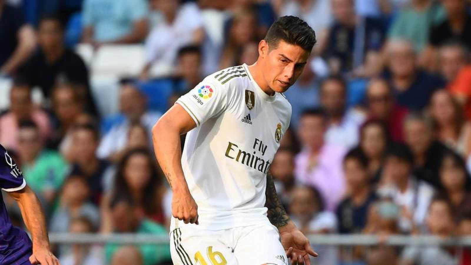 James Rodríguez sufre una lesión muscular en el sóleo derecho