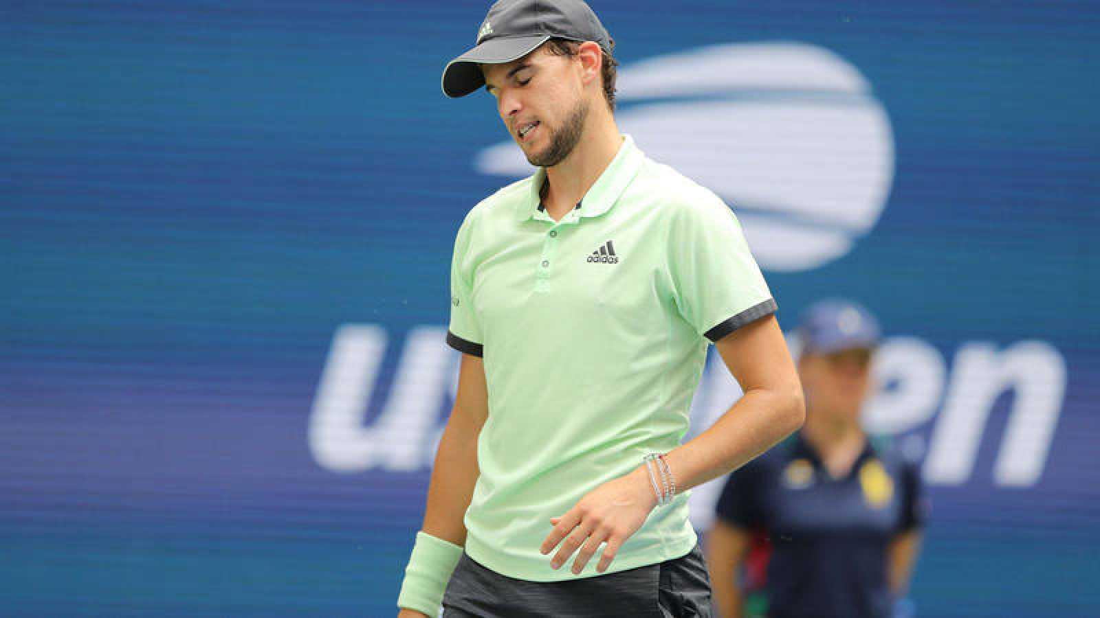 Dominic Thiem, eliminado contra pronóstico en primera ronda del US Open