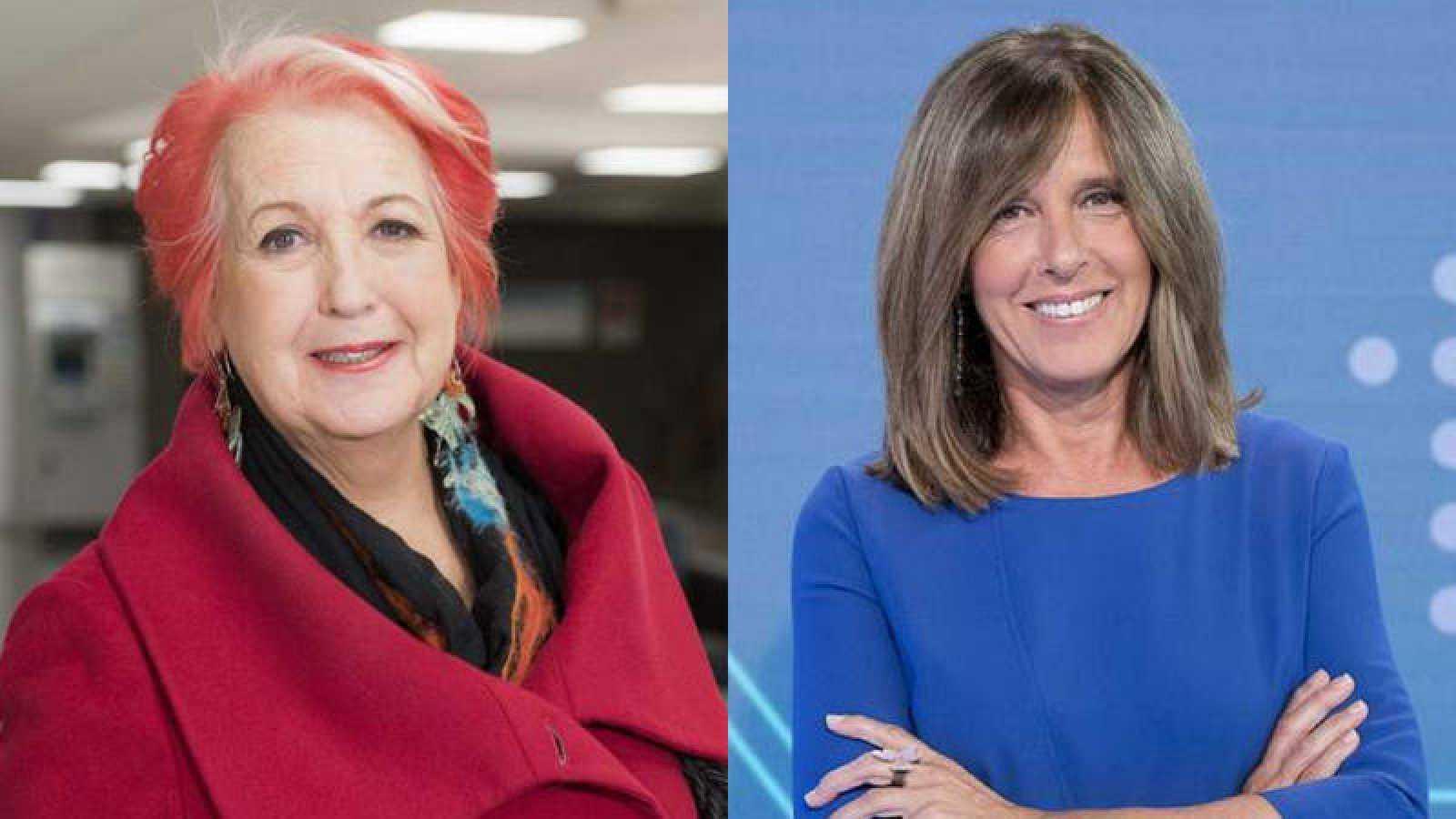 Rosa María Calaf y Ana Blanco, galardonadas en el FesTVal de Vitoria 2019